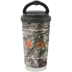 Hunting Camo Stainless Steel Coffee Tumbler (Personalized)