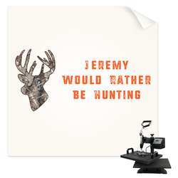 Hunting Camo Sublimation Transfer (Personalized)