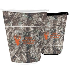Hunting Camo Waste Basket (Personalized)