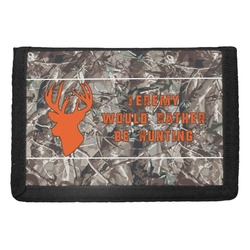 Hunting Camo Trifold Wallet (Personalized)