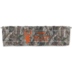 Hunting Camo Valance (Personalized)