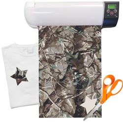 "Hunting Camo Heat Transfer Vinyl Sheet (12""x18"")"
