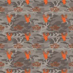 Hunting Camo Wrapping Paper (Personalized)