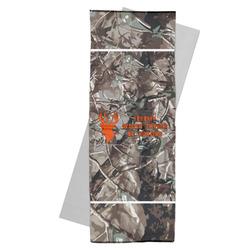 Hunting Camo Yoga Mat Towel (Personalized)