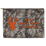 Hunting Camo Zipper Pouch (Personalized)