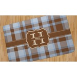 Two Color Plaid Area Rug (Personalized)