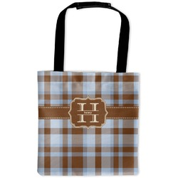 Two Color Plaid Auto Back Seat Organizer Bag (Personalized)