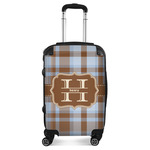 Two Color Plaid Suitcase (Personalized)
