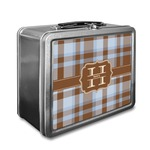 Two Color Plaid Lunch Box (Personalized)