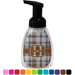 Two Color Plaid Foam Soap Dispenser (Personalized)