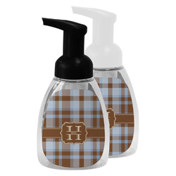 Two Color Plaid Foam Soap Bottle (Personalized)