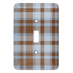 Two Color Plaid Light Switch Covers (Personalized)