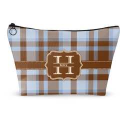 Two Color Plaid Makeup Bags (Personalized)