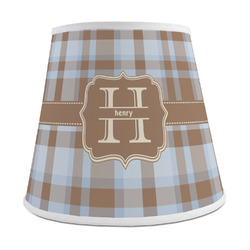 Two Color Plaid Empire Lamp Shade (Personalized)