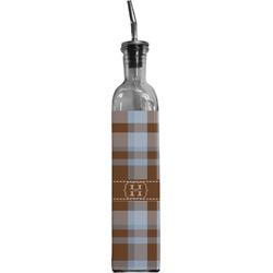 Two Color Plaid Oil Dispenser Bottle (Personalized)
