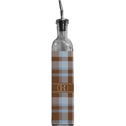 Two Color Plaid Oil Dispenser Bottle (Personalized)