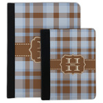Two Color Plaid Padfolio Clipboard (Personalized)