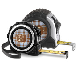 Two Color Plaid Tape Measure (Personalized)