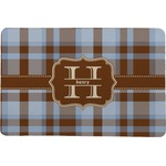Two Color Plaid Comfort Mat (Personalized)