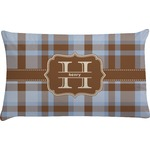 Two Color Plaid Pillow Case (Personalized)