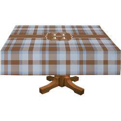 Two Color Plaid Tablecloth (Personalized)