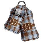 Two Color Plaid Hand Sanitizer & Keychain Holder (Personalized)