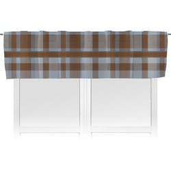 Two Color Plaid Valance (Personalized)