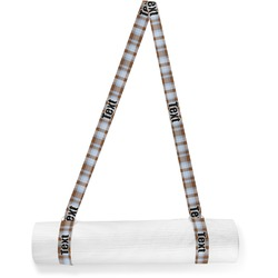 Two Color Plaid Yoga Mat Strap (Personalized)