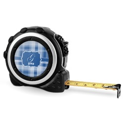 Plaid Tape Measure - 16 Ft (Personalized)