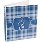 Plaid 3-Ring Binder (Personalized)