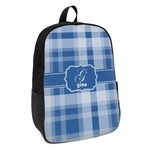 Plaid Kids Backpack (Personalized)