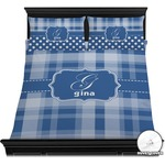 Plaid Duvet Cover Set (Personalized)