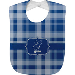 Plaid Baby Bib (Personalized)