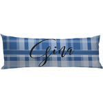 Plaid Body Pillow Case (Personalized)