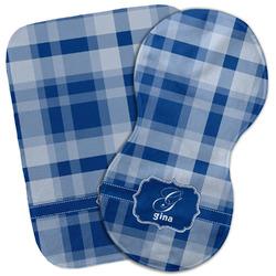 Plaid Burp Cloth (Personalized)