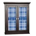 Plaid Cabinet Decal - Custom Size (Personalized)