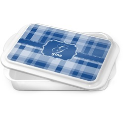 Plaid Cake Pan (Personalized)