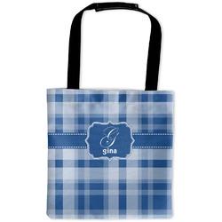 Plaid Auto Back Seat Organizer Bag (Personalized)