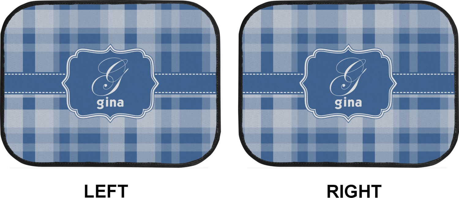 Plaid Kitchen Floor Mat