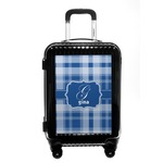 Plaid Carry On Hard Shell Suitcase (Personalized)