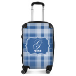 Plaid Suitcase (Personalized)
