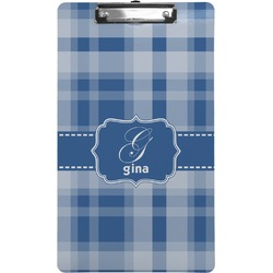 Plaid Clipboard (Legal Size) (Personalized)