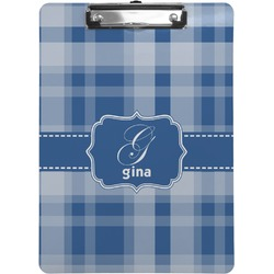 Plaid Clipboard (Personalized)