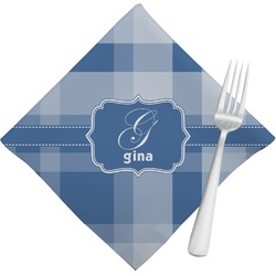 Plaid Napkins (Set of 4) (Personalized)