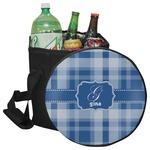 Plaid Collapsible Cooler & Seat (Personalized)
