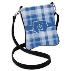 Plaid Cross Body Bag - 2 Sizes (Personalized)