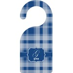 Plaid Door Hanger (Personalized)