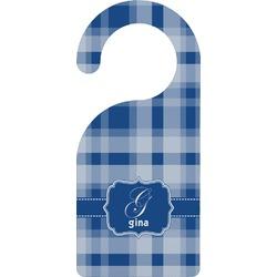 Plaid Door Hanger (Personalized)