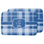 Plaid Dish Drying Mat w/ Name and Initial