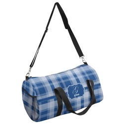 Plaid Duffel Bag - Multiple Sizes (Personalized)